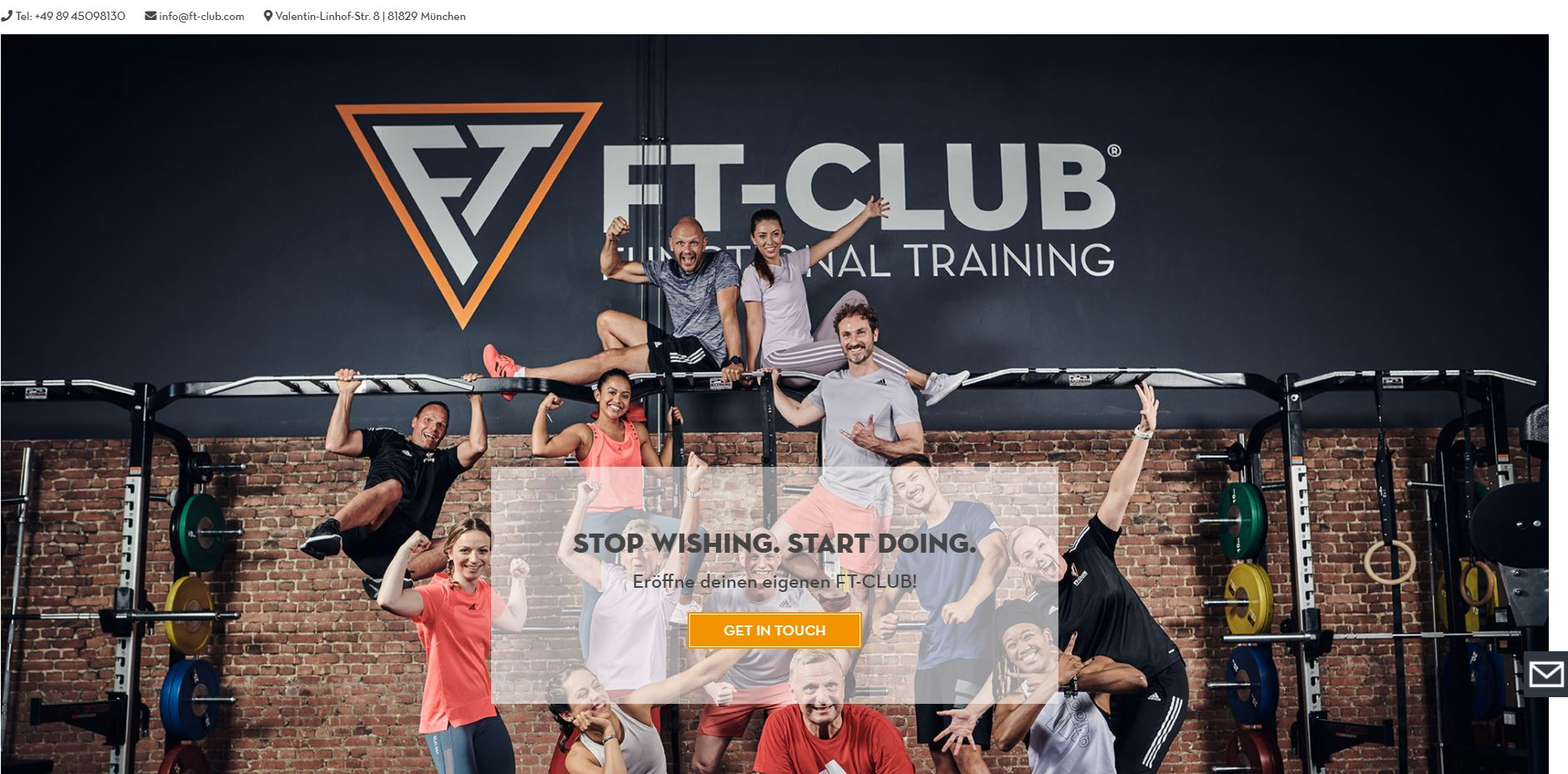 Neue Homepage des FT-CLUB